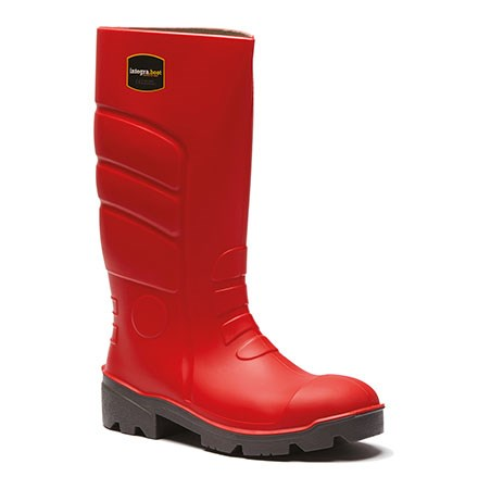 Fortis Red Wellington Boots