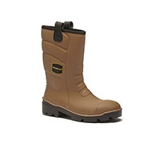 Lucem+ Tan Wellington Boots