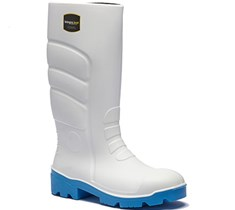 Fortis White Wellington Boots